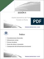 4. Sesion 4 - Diseno Geometrico - Trazado en Planta