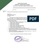 Surat EDARAN Pendataan Program Kemandirian PP