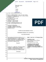 New Medium Technologies LLC et al v. Barko N.V. et al - Document No. 6