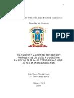 DAP y Propuesta de Un SGA Para La Universidad Nacional de Tacna 2003