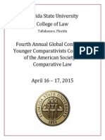 4th Annual YCC Global Conference--Program