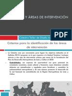 Temáticas y Áreas de Intervención