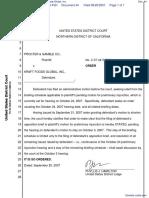 The Procter & Gamble Company v. Kraft Foods Global, Inc. - Document No. 44