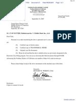 Mediostream Inc. v. Priddis Music Inc. et al - Document No. 21