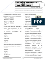 EXAMEN DE 4° - FILOSOFIA - ALUMNOS