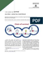 Chain of Survival Resuscitation Dec06