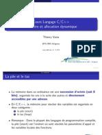 Cours C++ Les Memoires