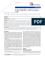Development of the ATAQ-IPf 2010