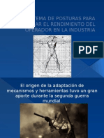 Posturas y Movimientos Antropometricos
