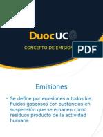 Concepto de Emisiones