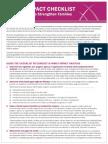 family impact analysis checklist