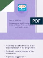 Prog Evaluation Presentation