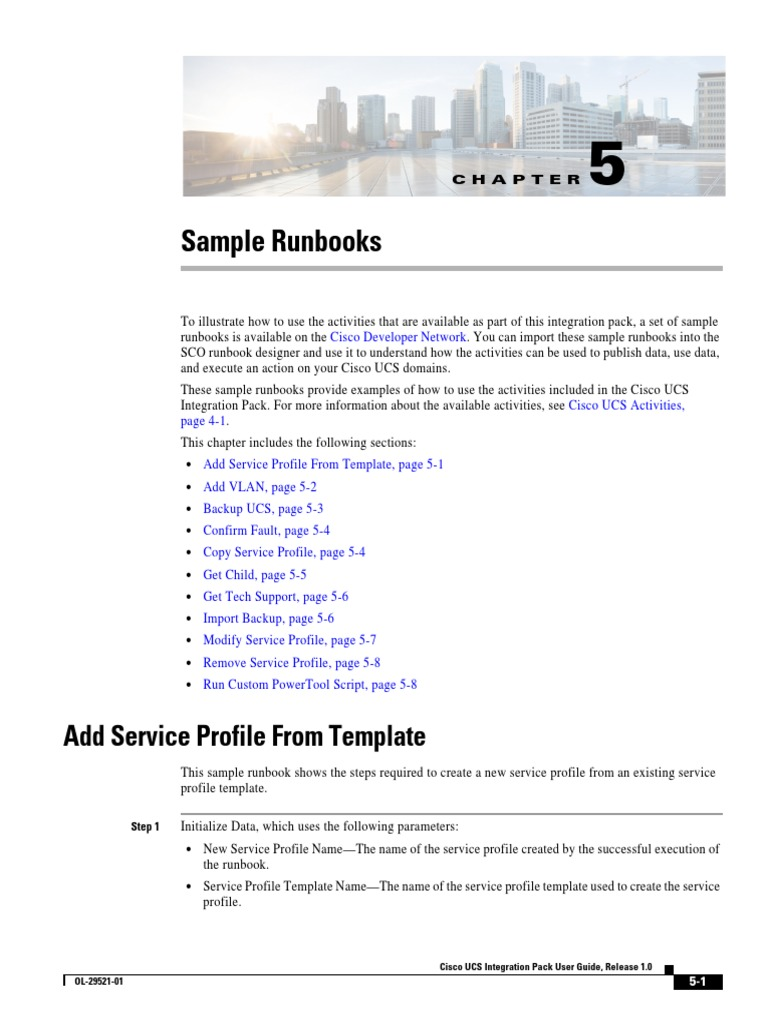 Runbook Template | Sco Sample Runbooks Parameter Computer Programming Variable