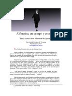 Alfonsina Storni en Cuerpo y Escritura