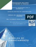 Modelos de Financiamiento Presentación
