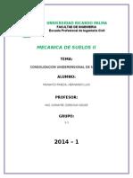 1er informe CONSOLIDACION UNIDEMENSIONAL DE SUELOS.docx