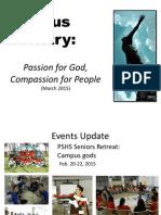 2015 Feb-March Prayer Report
