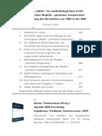 Oliver Kloss - Kritik an Opp u Pollack - Zur Revolution 1989