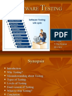 Presentation on Software Testing