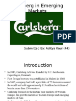 Carlsberg in Emerging Markets