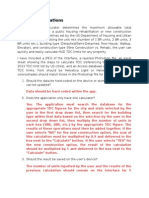 Sample App Development Documents - Project Clarifications to Programmer
