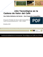 ACM 2013 La Innovacion Tecnol_gica en La Cadena Del Cafe