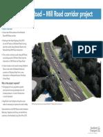 Mill Rd Corridor Project Boards April 2015