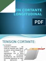 Tension Cortante Longitudinal
