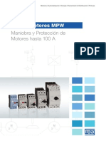 WEG Mpw Guardamotores 50030559 Catalogo Espanol