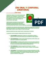 Expresion Oral y Corporal