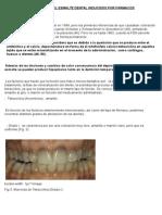 Coloracion Del Esmalte Dental Inducidos Por Fármacos
