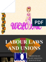 Labor Laws and Unions