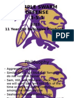 Purple Swarm - 2015 11 Year Old Defense