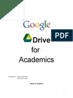 Google Drive Training Manual