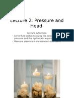 2.Pressure and Head