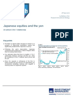 Axa Im - Japanese Equities and the Yen - 20 March 2014