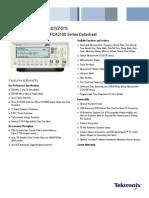 FCA3000 Series Timer-Counter-Analyzers Datasheet 3CW-25556-4 1