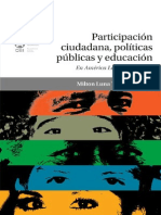 Participación ciudadana y políticas públicas en Ecuador