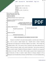 Apple Computer Inc. v. Burst.com, Inc. - Document No. 176