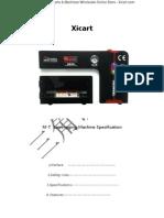 M-T 5 in 1 OCA vacuum laminating machine Instruction Manual