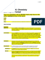 1112 Hl Chem Lab Report Format - Design Focus