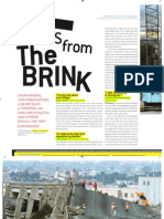 """""""Tales from the Brink,"""" San Francisco Magazine, October 2014"""