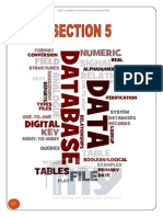 Section 5 – Data Types