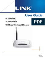 Tl-wr740n 741nd User Guide