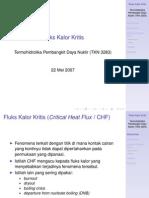 Fluks Kalor Kritis
