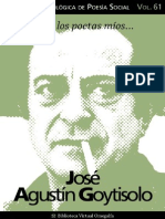 José Agustín Goytisolo Seleccion Poetica