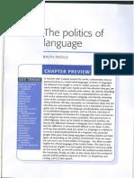 Chapter 11 - The Politics of Language (1)