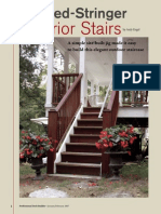Housed-Stringer Exterior Stairs