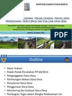 Rakornas15_dirjen Perimbangan Keuangan Tata Cara Penganggaran, Pengalokasian, Penyaluran,Penggunaan, Monitoring Dan Evaluasi Dana Desa