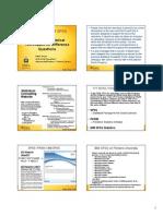 SPSS Intermediate Advanced Statistical Techniques
